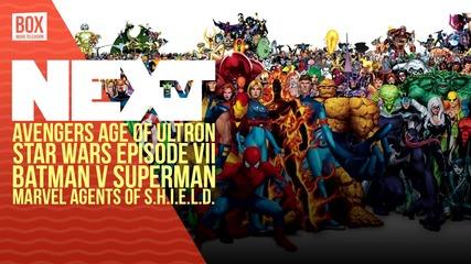 NEXTTV 033: Кино: Avengers: Age of Ultron, Star Wars Episode 7, Batman vs Superman. Agents of SHIELD