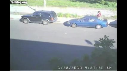 Успоредно паркиране не успешно !
