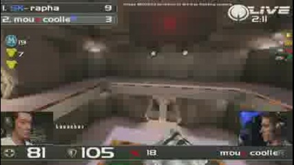 Intel Extreme Masters 2011 **cooller vs. rapha** - Quake Live Grand Final 2/2