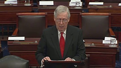 USA: McConnell's impeachment resolution one of 'darkest' moments in Senate history - Minority Leader Schumer