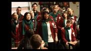 Най - яката коледна песен !!! Glee Welcome Christmas