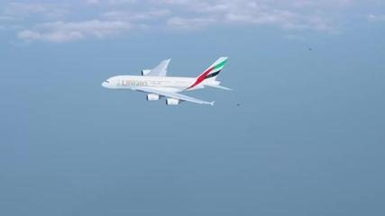 Чувството да летиш заедно със самолет - Дубай