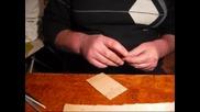 Навиване на чепаре върху картончето