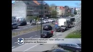 Белгийската полиция гони зебри по улиците на Брюксел