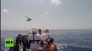 Италия: Кадри от операцията на Доктори без граници в Средиземно море