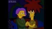 the Simpsons 03x21 black widower