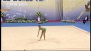 Мария Матева - бухалки - Световна купа по художествена гимнастика - София 2015