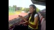 Испанка Пее На Български - Смях :d Преслава-Когато  съмне