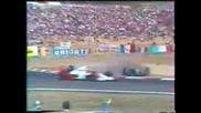 1990 GP of Hungary at Hungaroring Mistake
