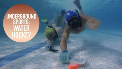 Невероятен подводен спорт