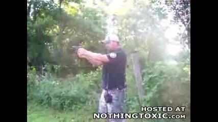 Идиот + Оръжие = Сакатлък