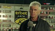 Иван Колев: Пропуските са тревожни, този мач показа, че футболът не е справедлива игра