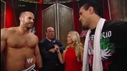 Paul Heyman and Cesaro confront Alberto Del Rio: Raw, June 23, 2014