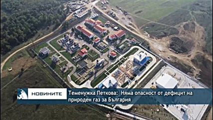 Теменужка Петкова: Няма опасност от дефицит на природен газ за България
