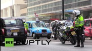 UK: Anti-Uber black cab protesters shut down London