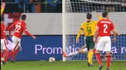 Швейцария 4:0 Литва 15.11.2014
