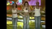 Hadise - Dum tek tek (турция eurovision 2009 bg Subs бг превод)