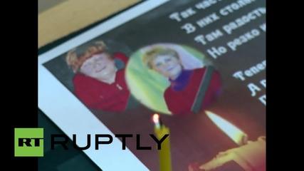 Russia: Russian flight 7K9268 memorial service held for victim