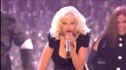 Christina Aguilera medley (live at the 36th American Music Awards 2008)