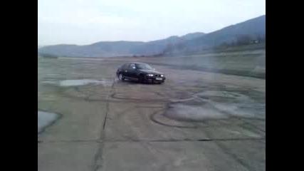 Drift osi bmw 320