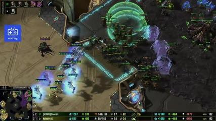 Star Craft 2 Giantt vs. Methix игра 4
