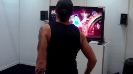 The Michael Jackson Experience Workin Day And Night - Gameplay Wii Gamescom2010