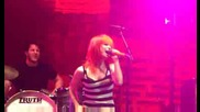 Paramore - Where the Lines Overlap (live in Bakersfield) (hd)