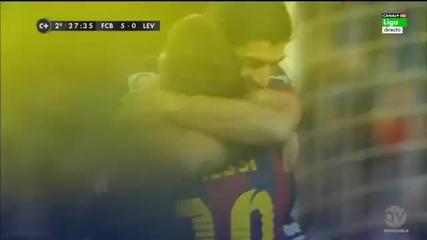 Барселона - Леванте 5:0