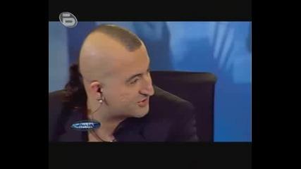 Music Idol 3 - Кантинг В София 09.03.2009 Титаник (rofl) Много Смях!