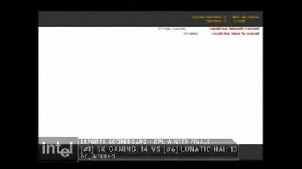 Cs Cs Cs - Cpl Winter 2005 Cs 1.6 finals Sk Gaming Vs Lunatic Hai 100000 match