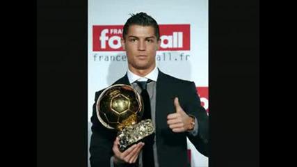Cristiano Ronaldo Wins Ballon Dor 2008