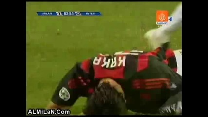 Kaka vs Inter 2008
