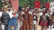 Парад на римски пехотинци в Свищов