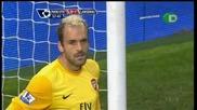 29.08 Манчестър Юнайтед 2 - 1 Арсенал Уейн Рууни гол от дузпа *hq*