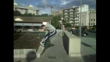Street Aon Parkour