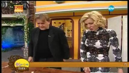 На кафе с Георги Стайков (10.02.2015г.)