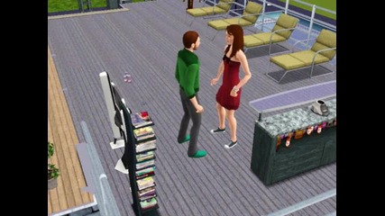 Sims dancing Pitbull - Hey baby =d
