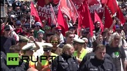"Germany: ""Block G7 - get rid of capitalism and war mongering"" - Protesters gather as G7 meets"