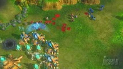 Starcraft 2 - Zerg Gameplay Video Part 1 avi Vbox7