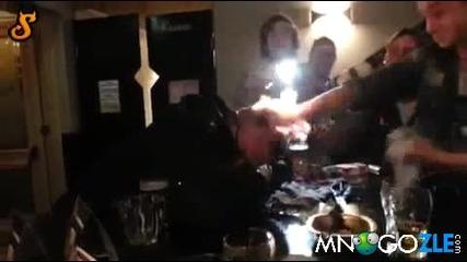 Подпалиха пиянката