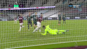 Уест Хям Юнайтед - Лийдс Юнайтед 2:0 /първо полувреме/