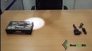 Акумулаторен фенер с електрошок за самоотбрана, самозащита, палатка, туризъм, кола, охрана