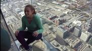 Гледка от балкона Willis Tower Skydeck - Чикаго