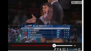 2012 Olympic Games- Freestyle Wrestling, Repechage 120kg. D Shabanbay (kaz) vs. B Makhov (rus)