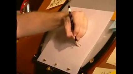 Как да нарисуваме Пери Птицечовката? Disney Channel 2010 Phineas and Ferb Perry The Platupus