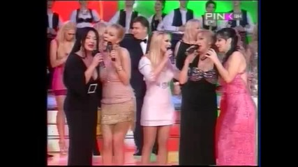 Ivana Selakov Aleksandra Svetlana - Volela sam volela - Grand narodno veselje 2012 - (TV Pink)