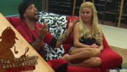 Коцето прави комплимент на Dee за гласа му- Big Brother: Most wanted 2017
