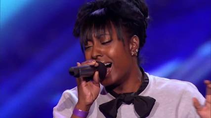 Емоционалното изпълнение на Ashly Williams - I Will Always Love You - X Factor Usa 2013 - Почувствай