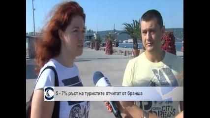 5-7% ръст на туристите отчитат от бранша