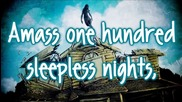 Pierce the Veil - One Hundred Sleepless Nights
